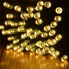 Solar Powered LED String Lights 55' 100 Lights