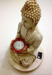 Large Buddha Solar Statue Light