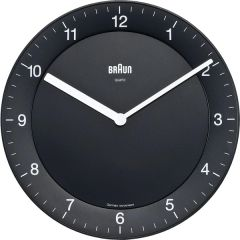 Braun Quiet German Precision Quartz Wall Clocks