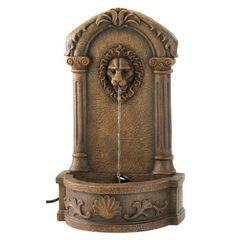 Lions Head Courtyard Fountains