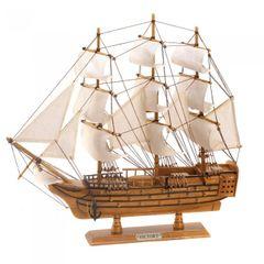 "HMS Victory 19"" Ship Model"