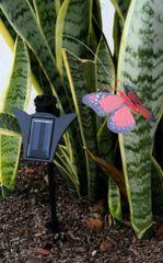 Outdoor Solar Garden Decor Flickering Insects