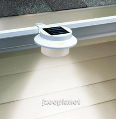 3-LED Solar Powered Accent Spot Lamp
