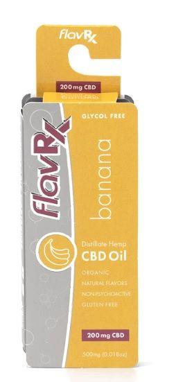 FlavRX CBD Distillate Cartridges