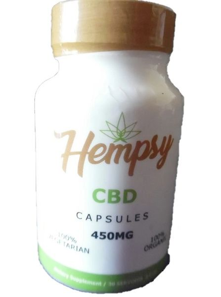 Hempsey 450mg CBD Pills