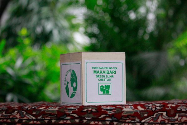 MAKAIBARI GREEN EXHILIR CHESLET 100GM
