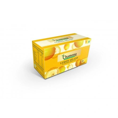 CHAMONG LEMON SPLASH GREEN TEA BAGS