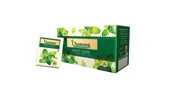 CHAMONG MINT COOL GREEN TEA BAGS