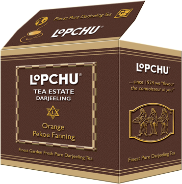 LOPCHU ORANGE PEKOE FANNING 250GM