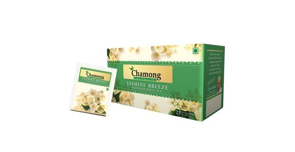 CHAMONG JASMINE BREEZE GREEN TEA BAGS