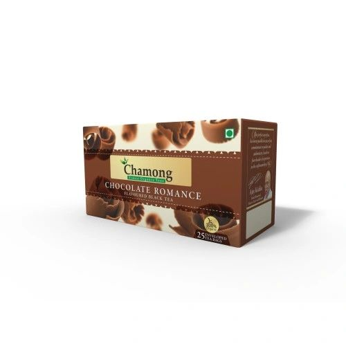 CHAMONG CHOCOLATE ROMANCE BLACK TEA BAGS