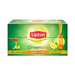 LIPTON HONEY LEMON GREEN TEA 25PC TEA BAGS