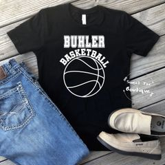 [Choose Your Team] Basketball with Block Letters
