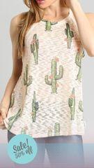 Ivory Cactus Halter