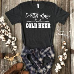 Country Music and Cold Beer