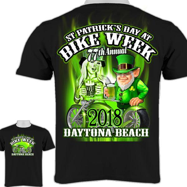 2018 Bike Week Daytona Beach 0014 St Patrick T Shirt Madness Express