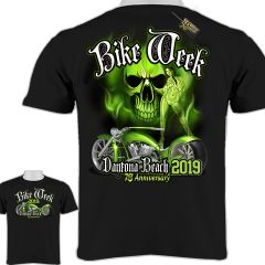 2019 Bike Week DAYTONA BEACH FL Skull New 008
