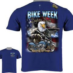 2019 Bike Week Eagle Support Our Troops New 024