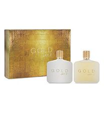 Jay Z Gold 3.0 oz EDT 2 Piece Gift Set for men