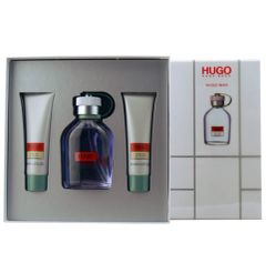 HUGO BOSS Hugo EDT 4.2 oz 3 Piece Gift Set for men