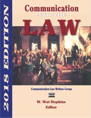 Communication and the Law 2018