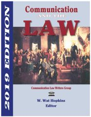 Communication & the Law 2019 BULK ORDERS