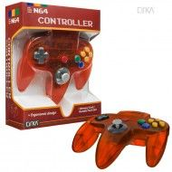 N64 Controller (Clear-Fire)-CIRKA