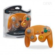 Wii/GameCube Controller (Orange)-CIRKA