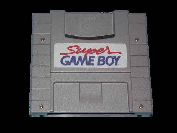 Super Nintendo SNES game boy cartridge player
