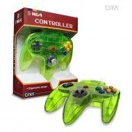 N64 Controller (Clear- Cyanine/Jungle-CIRKA