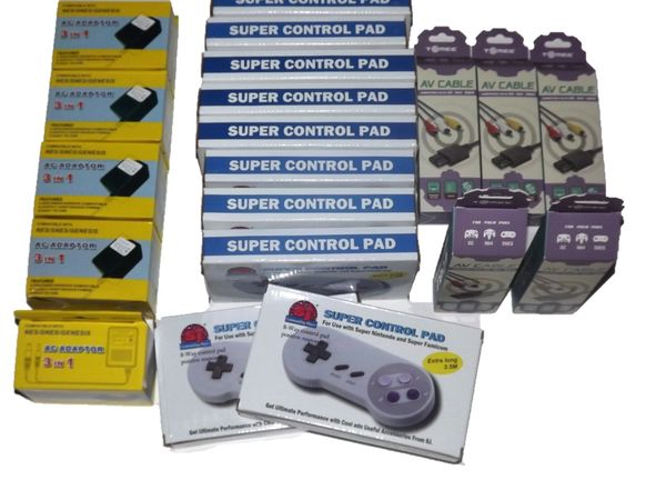 Wholsale Lot of SNES Accessories