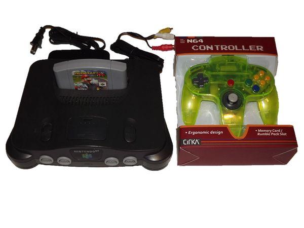 Nintendo 64 System with Mario Kart