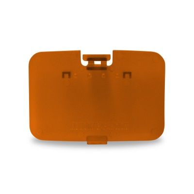 Atomic Orange Nintendo 64 N64 Replacement Memory Expansion Cover
