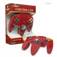 N64 Controller (Solid-Red)-CIRKA