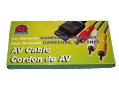 AV Cables for Nintendo GameCube, N64, SNES
