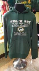 Green Bay Packers Performance Hood Hoodie Pullover Sweatshirt