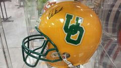 Oregon Dan Fouts Autographed Full Size Helmet