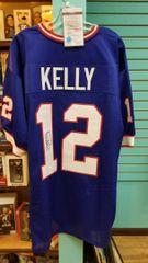 Jim Kelly Bills Autographed Jersey JSA