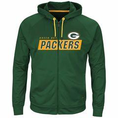 Green Bay Packers Game Elite Full Zip-up Hood Hooded