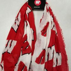 Wisconsin Badgers Infinity Scarf Oblong