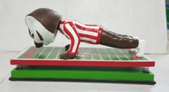 "Wisconsin Badgers Bucky Badger Exclusive ""Pushup"" Bobblehead"