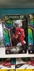2019 Panini Elements Football Factory Sealed Hobby Box 3 hits
