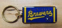Milwaukee Brewers Retro Ball & Glove Keychain Original from 1992