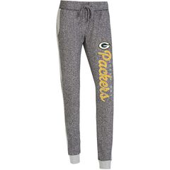 Women's Green Bay Packers Charcoal Walk Off Pants