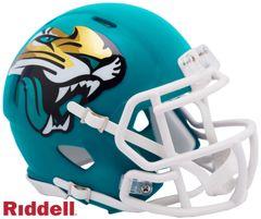 Jacksonville Jaguars NFL Riddell AMP Alternate Mini Speed Helmet