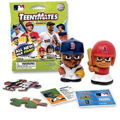MLB TeenyMates Series 6 Mystery Box Yelich Judge Pack of 2