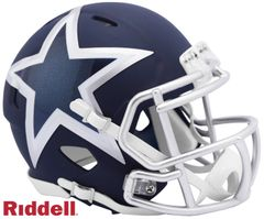 Dallas Cowboys NFL Riddell AMP Alternate Mini Speed Helmet