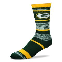 Green Bay Packers 504 RMC Stripe Socks (L)