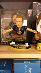 Green Bay Packers Clay Matthews Acme Throwback Bobblehead
