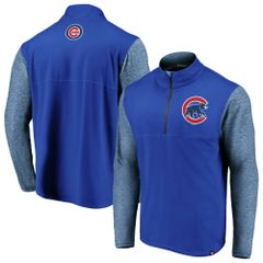 Chicago Cubs Royal Synthetic Made to Move 1/4-Zip Jacket